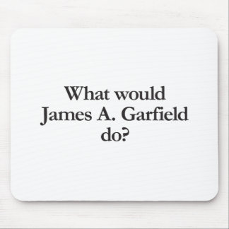 what would james a garfield do mousepads