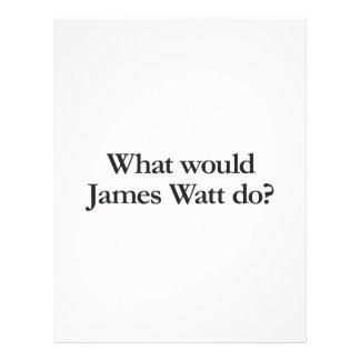 what would james watt do flyers