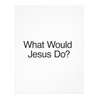 What Would Jesus Do?.ai Flyer Design