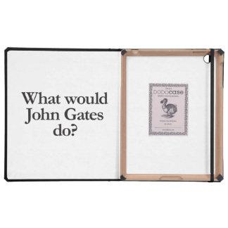 what would john gates do iPad folio case
