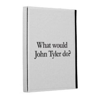 what would john tyler do iPad folio covers