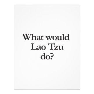 what would lao tzu flyer design