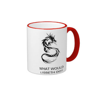 What Would Lisbeth Do? Mug
