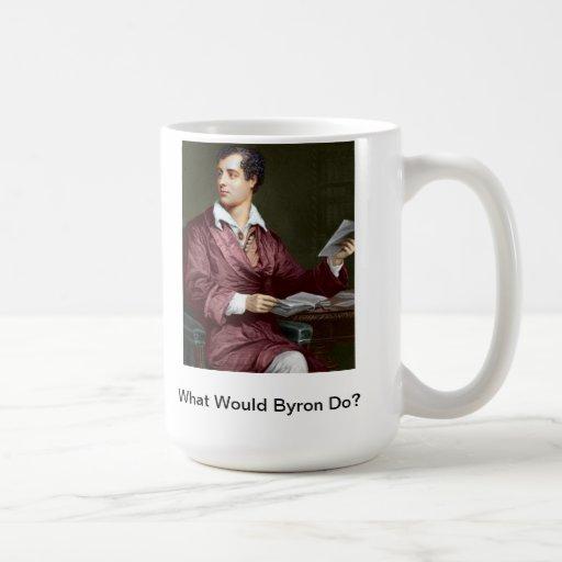 What Would Lord Byron Do? WWBD Coffee Mugs