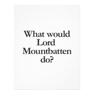 what would lord mountbatten do custom flyer