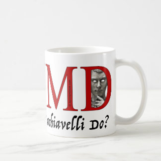 What Would Machiavelli Do? Coffee Mug