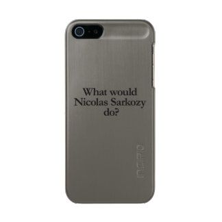 what would nicolas sarkozy do incipio feather® shine iPhone 5 case