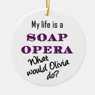 What Would Olivia Do? Ornament