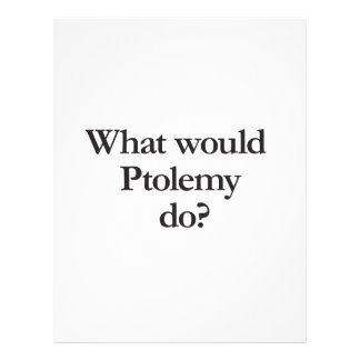 what would ptolemy do full color flyer