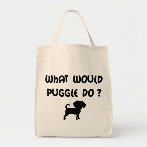 What Would Puggle Do? Bags