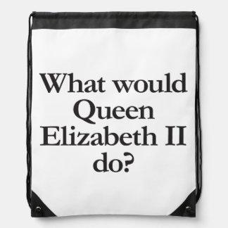 what would queen elizabeth II do Rucksack