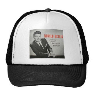 What would Reagan do? Hats