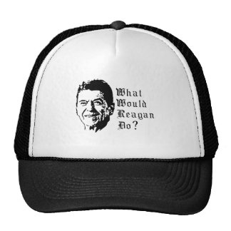 What would Reagan do? Trucker Hat