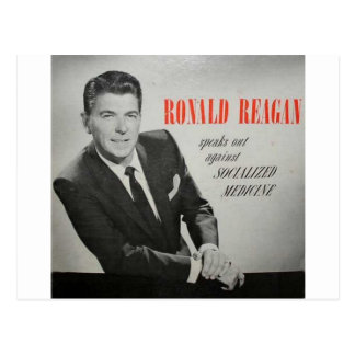What would Reagan do? Postcard