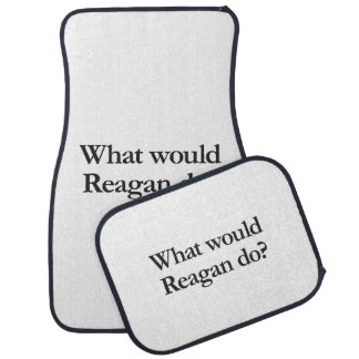 what would reagan do floor mat