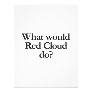 what would red cloud full color flyer