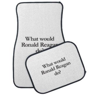 what would ronald reagan do.ai car mat