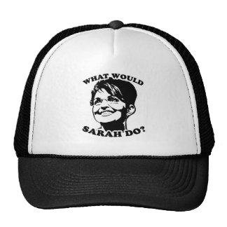 What would Sarah do? Trucker Hat