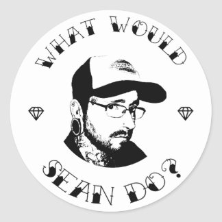 What Would Sean Do? Loyalty Sticker
