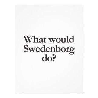 what would swedenborg do custom flyer