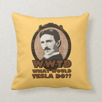 What Would Tesla Do Pillow