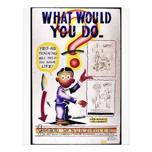 What Would You Do Flyer
