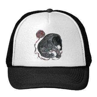 What yarn? asks, Bob the kitten Trucker Hats