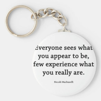 What you really ARE Key Chain