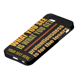 What You See... custom iPhone 5 Case-Mate