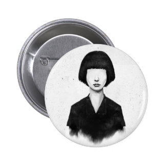 what you see is what you get 6 cm round badge