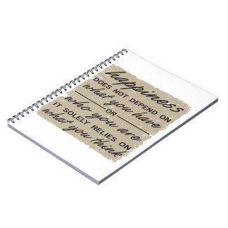 What You Think Spiral Notebooks