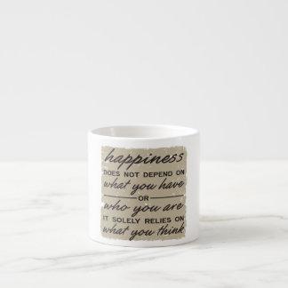 What You Think Espresso Mugs