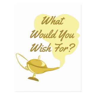 What You Wish Postcard