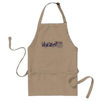 Whatahell Azul Standard Apron
