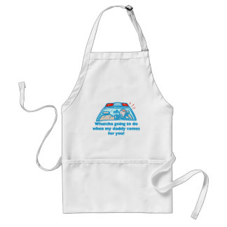 Whatcha going to do... adult apron