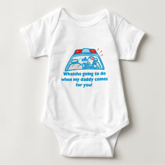 Whatcha going to do... baby bodysuit