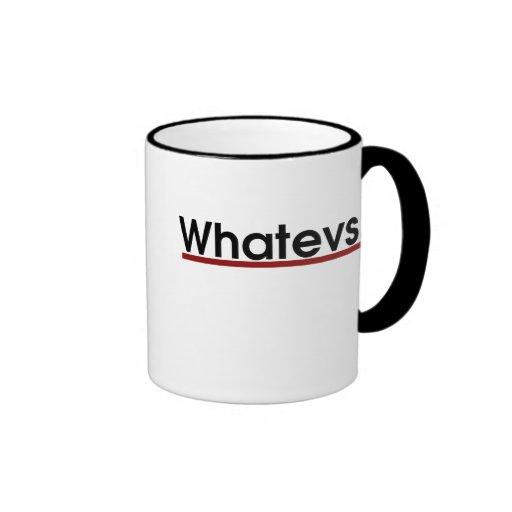 Whatev Mug