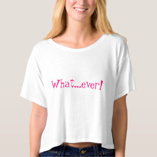 Whatever 1990s 90s t-shirt retro clueless hot pink