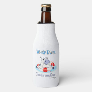 Whatever Floats Your Cow 3 Bottle Cooler