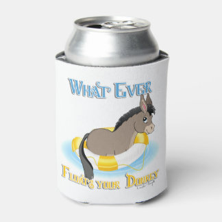 Whatever Floats Your Donkey Can Cooler