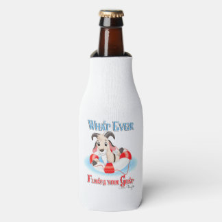 Whatever Floats Your Goat Bottle Cooler