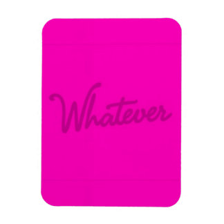 WHATEVER FUNNY SLANG CHEEKY ATTITUDE SAYING EXPRES VINYL MAGNETS