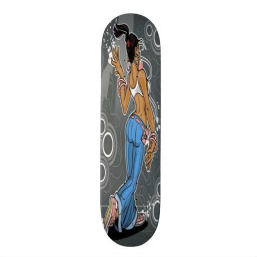 Whatever Girl Skateboard