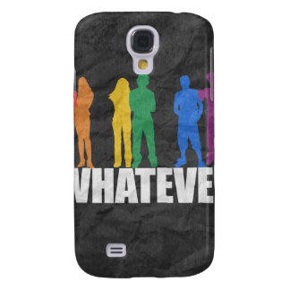 WHATEVER GRAY SAMSUNG GALAXY S4 CASES