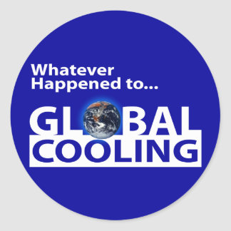 Whatever happend to Global Cooling? Stickers