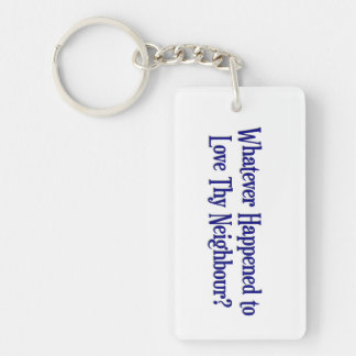 Whatever Happened... Keychain