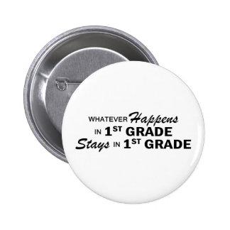Whatever Happens - 1st Grade 6 Cm Round Badge