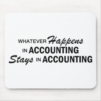 Whatever Happens - Accounting Mousepads