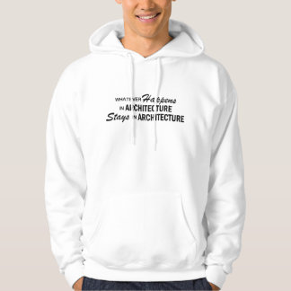 Whatever Happens - Architecture Hooded Pullover