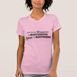 Whatever Happens - Bartending Shirt